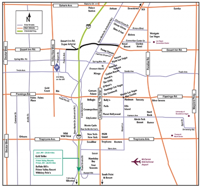 Faq Transportation Maps Strip Las Vegas Advisor