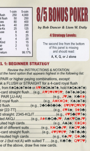 8/5 Bonus Strategy Card