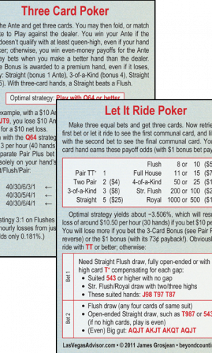 Let It Ride/Three Card Poker