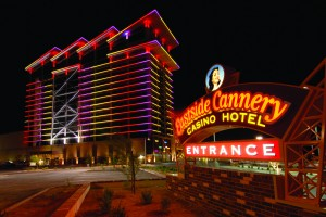 Eastside Cannery Casino & Hotel Exterior