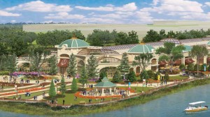 (010914 Everett, Ma) Renderings for the proposed Wynn Casino in Everett.