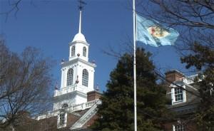 Delaware leg-hall