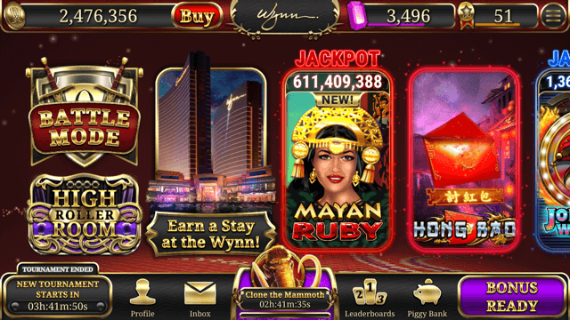 Wynn Slots App - Earn Free Hotel Rooms - LVA Travel